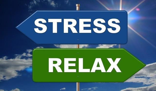 Stress umarmen?